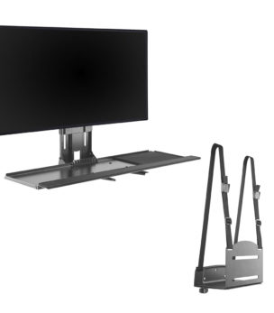 WM-3N1 Height Adjustable Wall Mount Workstation