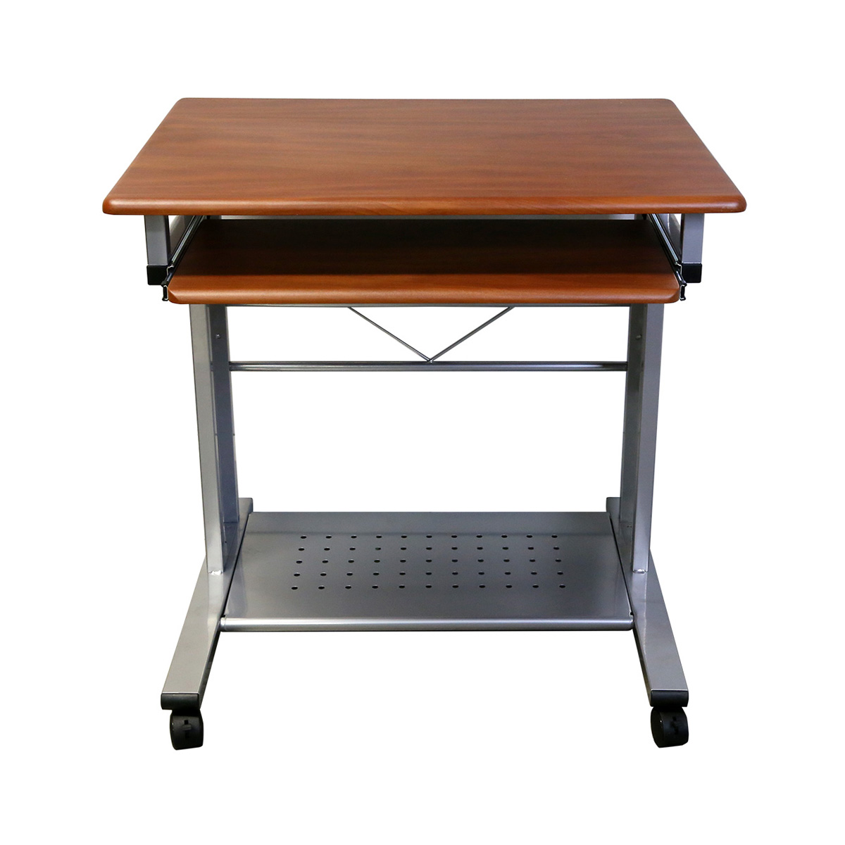 MCD-945C Mobile Compact Cherry PC Desk