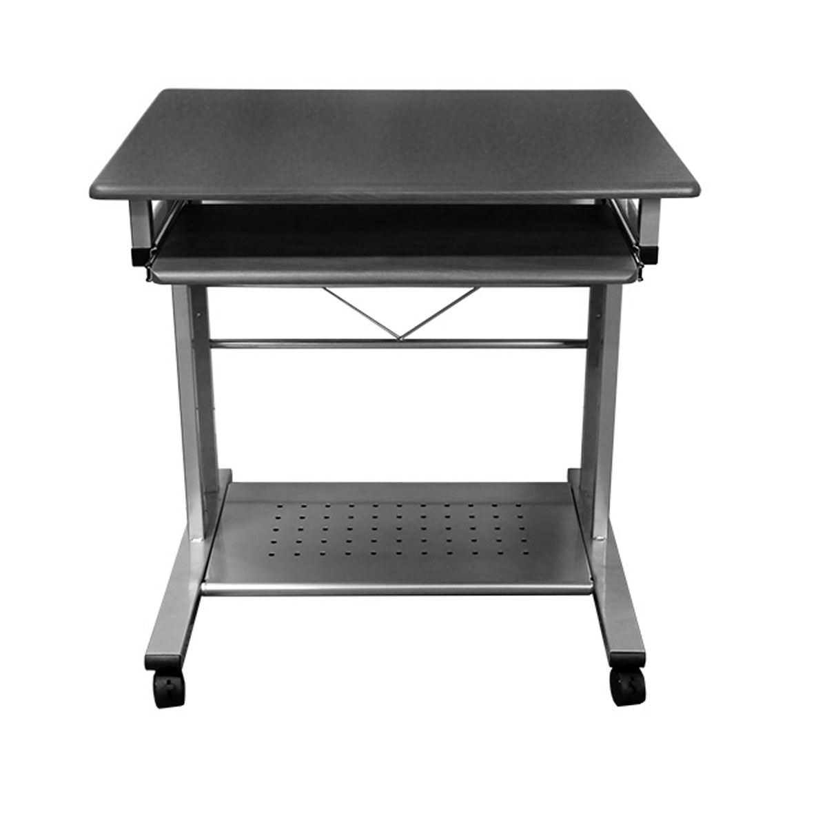 MCD-945A Mobile Compact PC Desk (Anthracite) for smaller offices