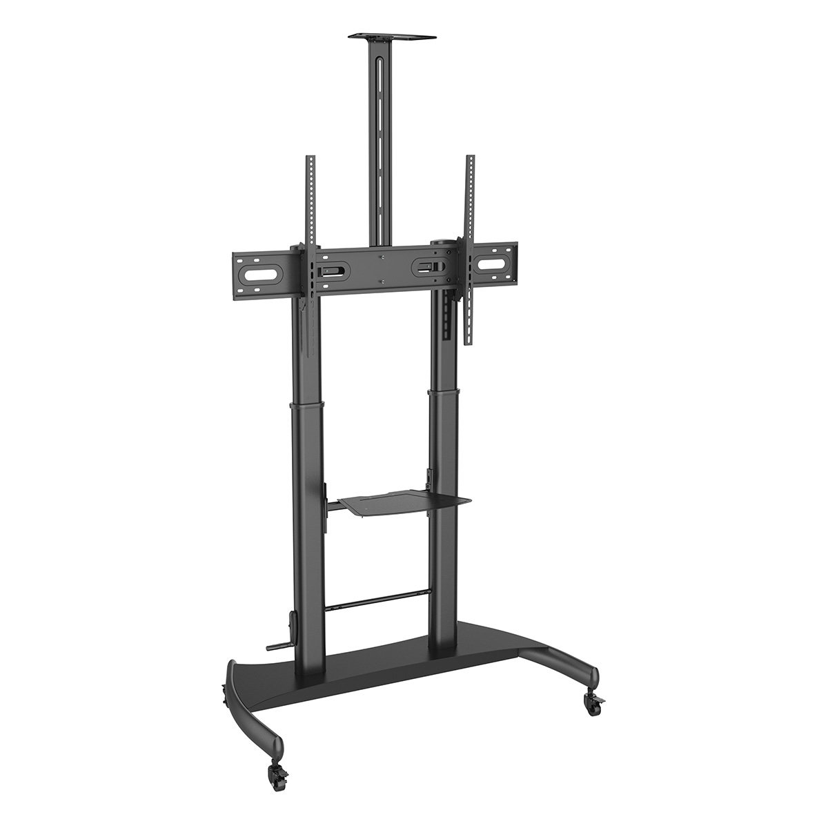 AVC55100-ADJ Mobile TV Cart for Screen up to 100""