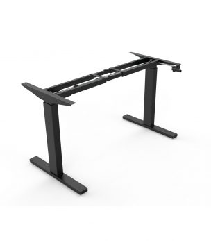 FS-DR24C Height Adjustable Desk Frame with manual crank