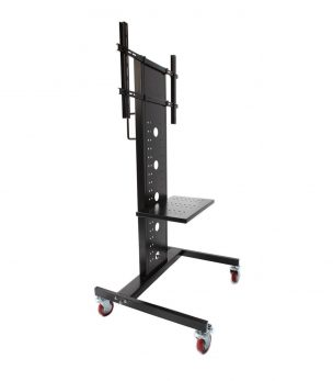 829-WS mobile TV cart