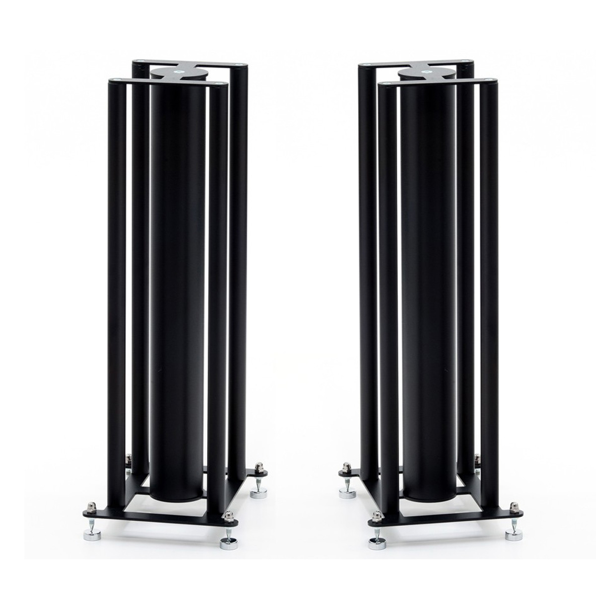 CD-FS104 Black 4 Column Speaker Stands