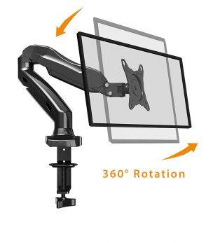dm80ii 360 degree rotation