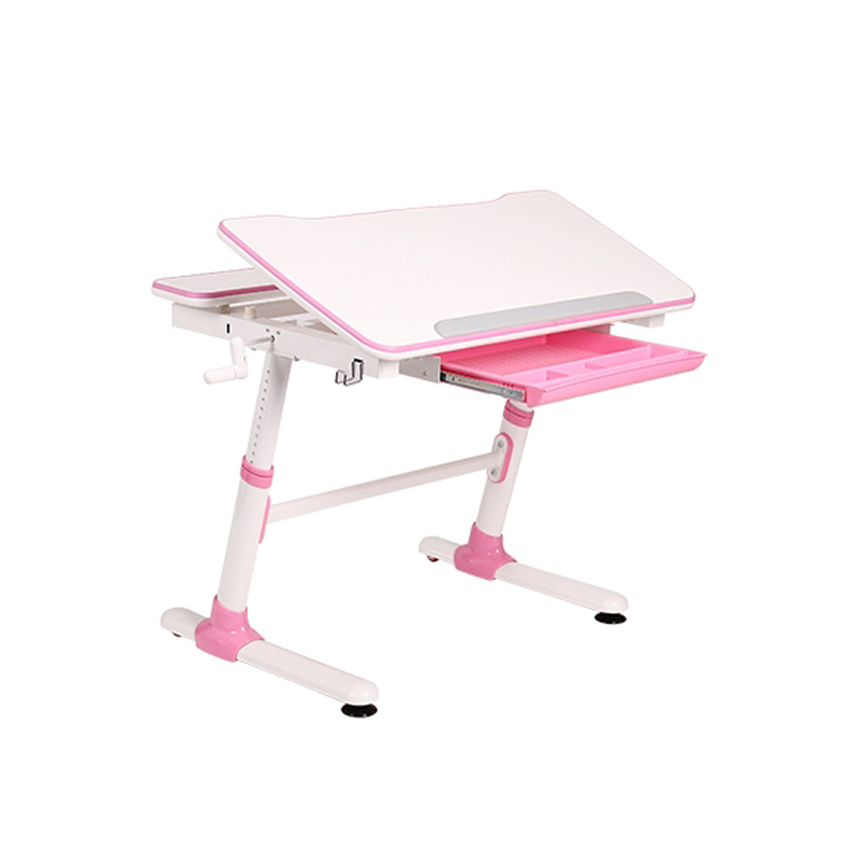 KD38P Height Adjustable Children Desk Pink