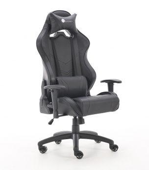 GC-BLKii Stealth Black Gaming Chair