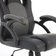 GC-305 Mid-Back Gray chair with ergonomic design
