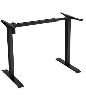 FS-DR48Mii Electric Height Adjustable Desk Frame Black