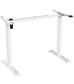 FS-DR48Mii Electric Height Adjustable Desk Frame White